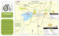 City Bike and Pedestrian Map Oxford, MS